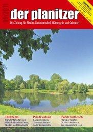 Die Zeitung für Planitz, Rottmannsdorf, Hüttelsgrün ... - der planitzer