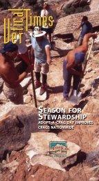 SEASON FOR STEWARDSHIP SEASON FOR ... - Access Fund
