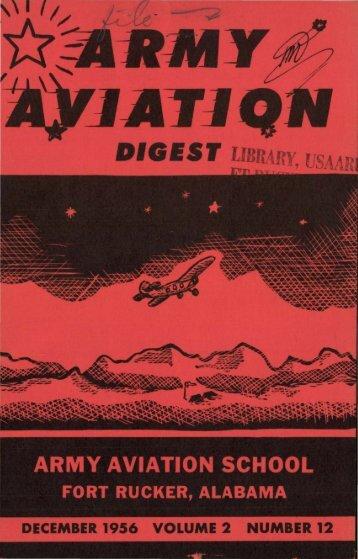Army Aviation Digest Index: Vol. II, 1956 - Fort Rucker - U.S. Army