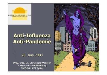 Influenza-2008 vorarlberg