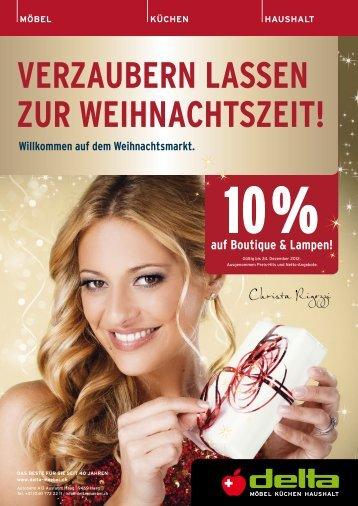 VerzauBern Lassen zur Weihnachtszeit! - Delta Möbel