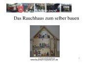 Größe des Rauchhauses? - Feuerwehr Kaltenbrunn