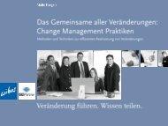 Change Management Praktiken - wibas GmbH