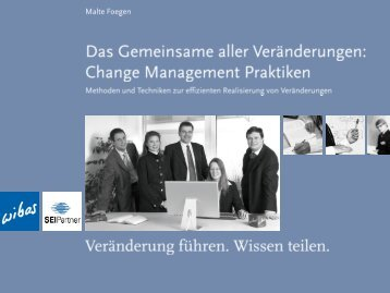 Change Management Praktiken - wibas GmbH