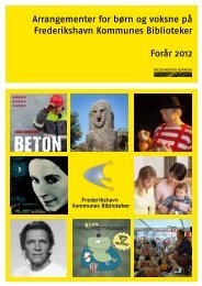 Arrangementer for voksne forår 2012 12 - Frederikshavn Kommunes ...