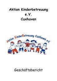 Aktion Kinderbetreuung eV Cuxhaven