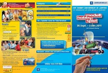 Ticketpreise Ab 5. September startet der Ticket-Vorverkauf ... - Airmix