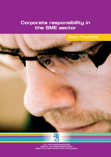 Corporate responsibility in the SME sector (pdf) (1.1