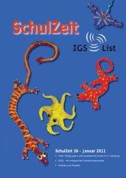 Schulzeit 36-11.indd - IGS List Hannover