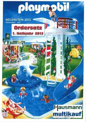 Playmobil 1.Hj 2013 Teil 1