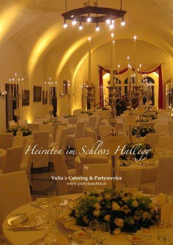 Heiraten im Schloss Hallegg - Yulia