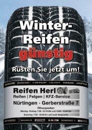 Winter- Kompletträder Zwei Highlights - Reifen Herl