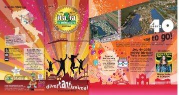 2010 brochure! - Italia in Miniatura