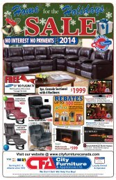 REBATES - City Furniture