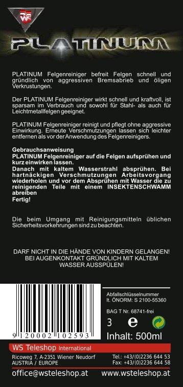 Platinum Felgenreiniger Anleitung Überfüller.cdr