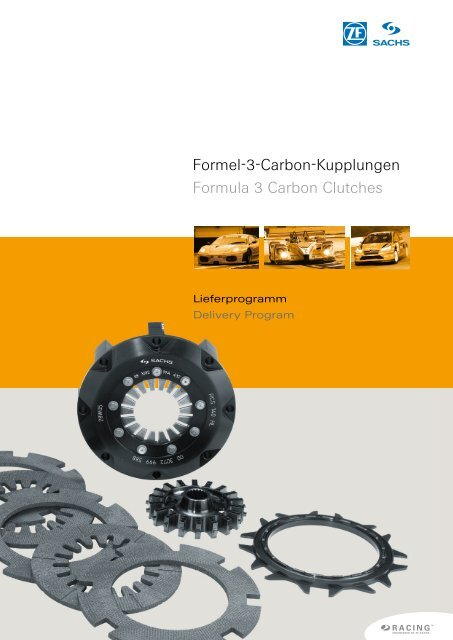 Formel-3-Carbon-Kupplungen Formula 3 Carbon Clutches