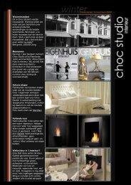 Dit is Choc Studio's eerste nieuwsbrief. Hiermee willen we ... - Safretti