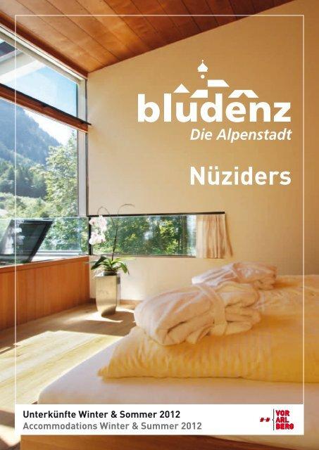 Nüziders - Urlaub in der Alpenregion Bludenz