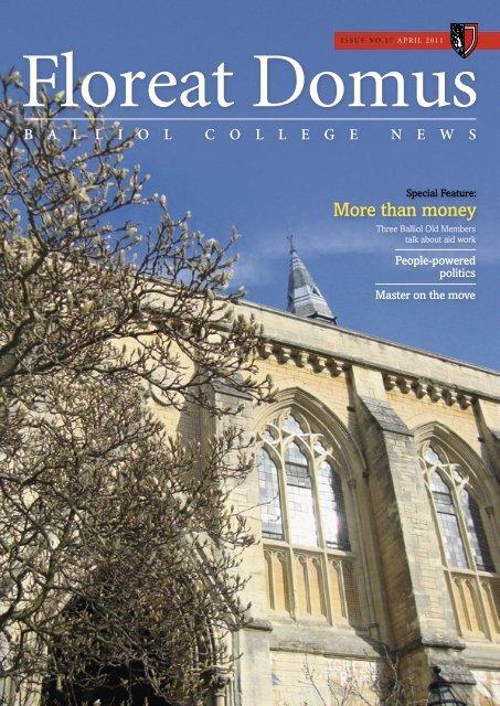 balliolcollegenews - Balliol College - University of Oxford