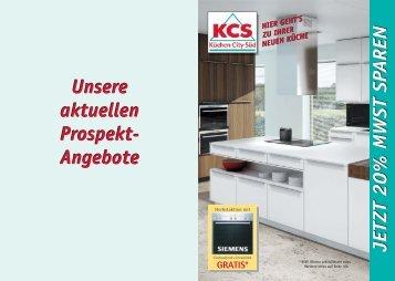 Unsere aktuellen Prospekt - Küchen-City-Süd LOGO