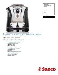 RI9753/47 Saeco Automatic espresso machine - Philips