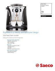 RI9753/47 Saeco Automatic espresso machine - Philips