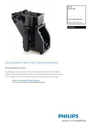 HD5050/01 Philips Brühgruppe - Magnavox