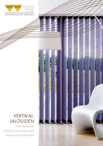 Flexi Jalousien plissee vertikal jalousie fläche rollo