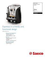 RI9754/47 Saeco Automatic espresso machine - Philips