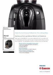 HD8743/11 Philips Kaffeevollautomaten