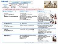 SERVICE-Checkliste - Saeco Philips Kaffeevollautomaten - best-in ...