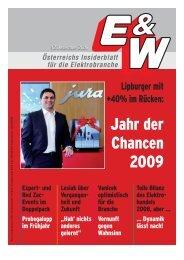 Jahr der Chancen 2009 - E&W