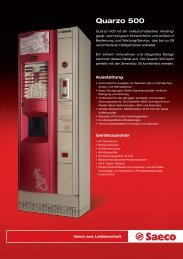 Quarzo 500 - Verkaufs-Automaten GmbH