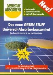 GreenStuff-Absorbent - Prospektblatt - hego-biotec
