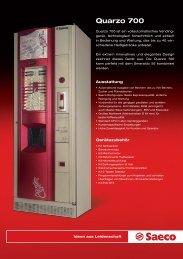 Quarzo 700 - Verkaufs-Automaten GmbH
