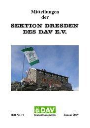 Berg Heil ! Bis zur nächsten Ausgabe! - DAV Sektion Dresden