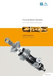 Formula-Matrix-Dämpfer Formula-Matrix-Damper - ZF ...