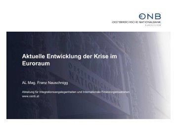 Krise im Euroraum - Kommunalkredit Austria AG