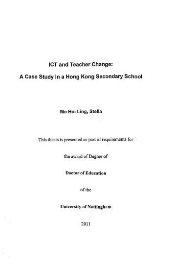 E thesis nottingham university