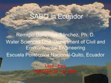 SABO in Ecuador