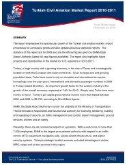 Turkish Civil Aviation Market Report 2010-2011 - Export.gov
