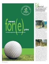 news you - Golfclub Montafon