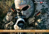 tactical military & security products Collection 2010 - Swiss Eye