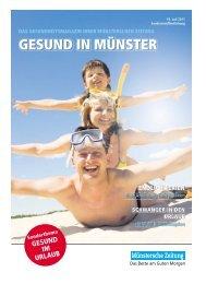 Gesund in Münster - Münstersche Zeitung