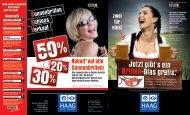 Jetzt gibt's ein Brillen-Glas gratis.* - Haag Akustik Augenoptik GmbH