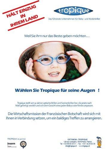 Laden Sie hier unsere Präsentation in deutscher Sprache - Tropique