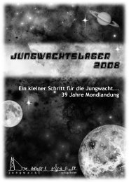 Besuchstag (13. Juli 2008) - Jungwacht Schüpfheim