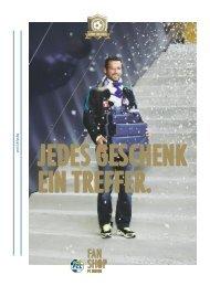 VOM 24.11. – 22.12. auch SaMStagS gEÖffnEt! - FC Luzern