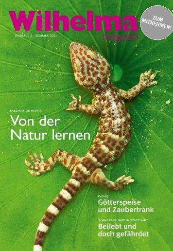 Wilhelma magazin 2/2011