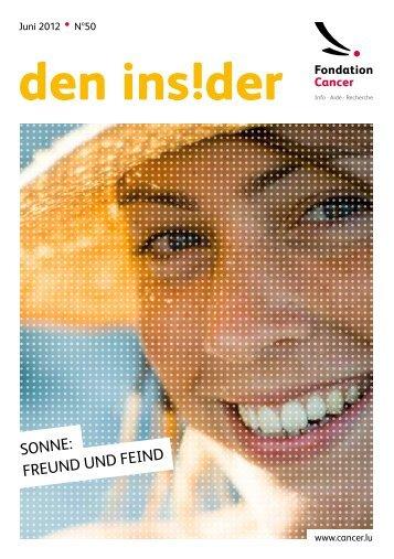 SONNE: FREUND UND FEIND - Fondation Cancer